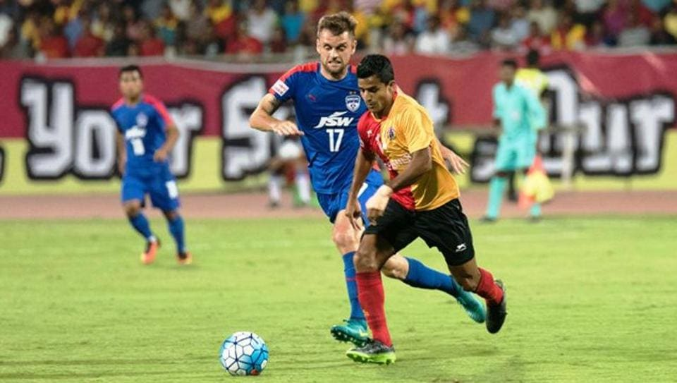 East Bengal beat Bengaluru FC in a one-sided I-League encounter.