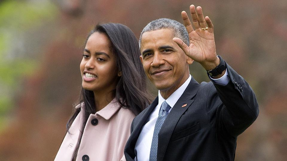 Barack Obama,Obama broadway,Malia Obama