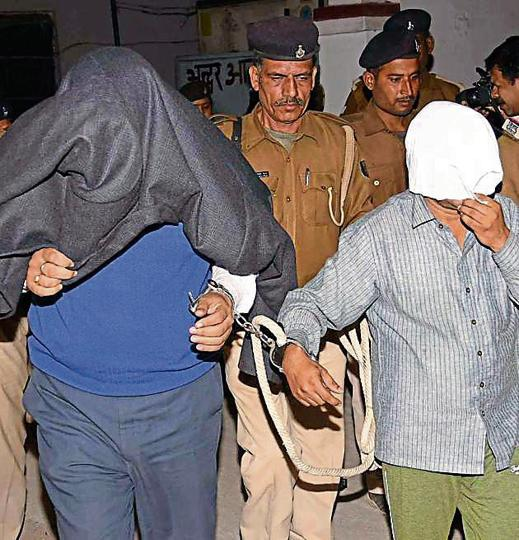 Relatives of Bihar Staff Selection Commission chairman Sudhir Kumar were produced in a Patna court on Saturday.
