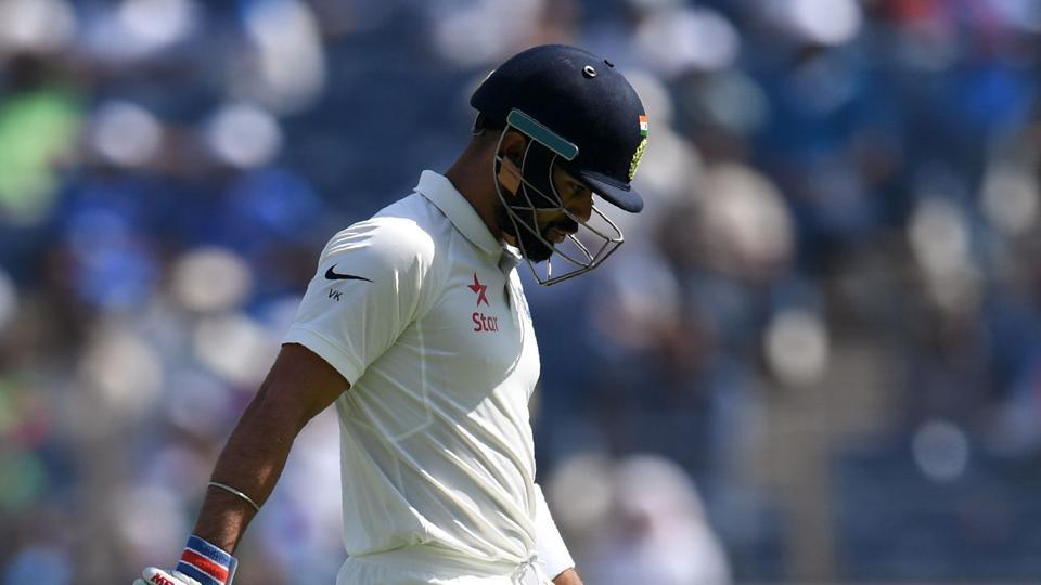 Virat Kohli, Indian cricket team captain, failed to perform well in the first Test against Australia.