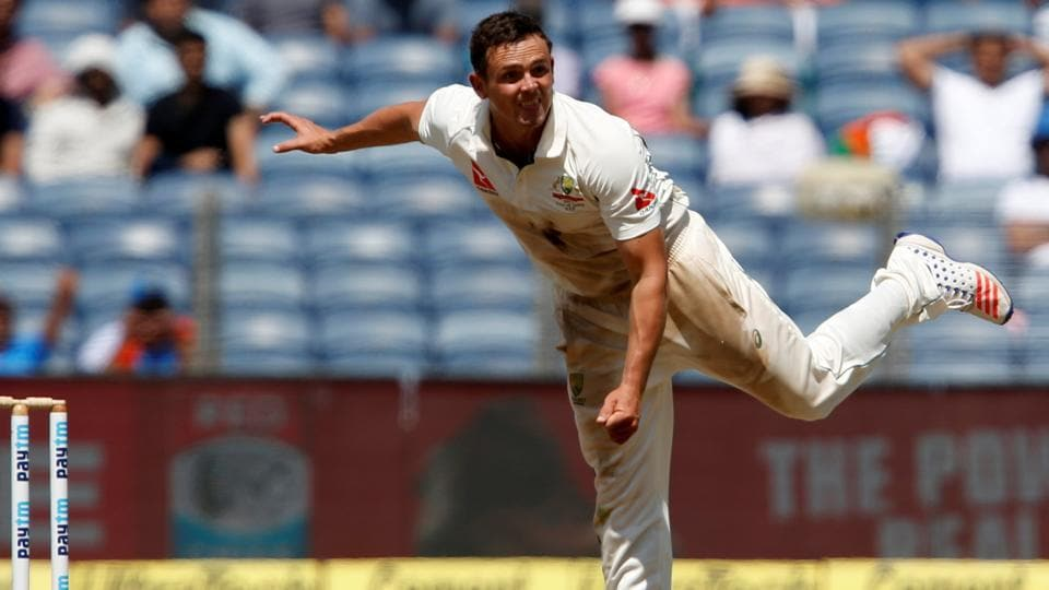 Steve O'Keefe has notched up the best figures by an overseas spinner in Tests in India after Australia's 333-run win in Pune.