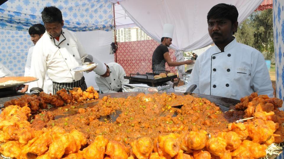 Gurgaon food fest,Old Delhi street food,Purani Dilli Ka Khana