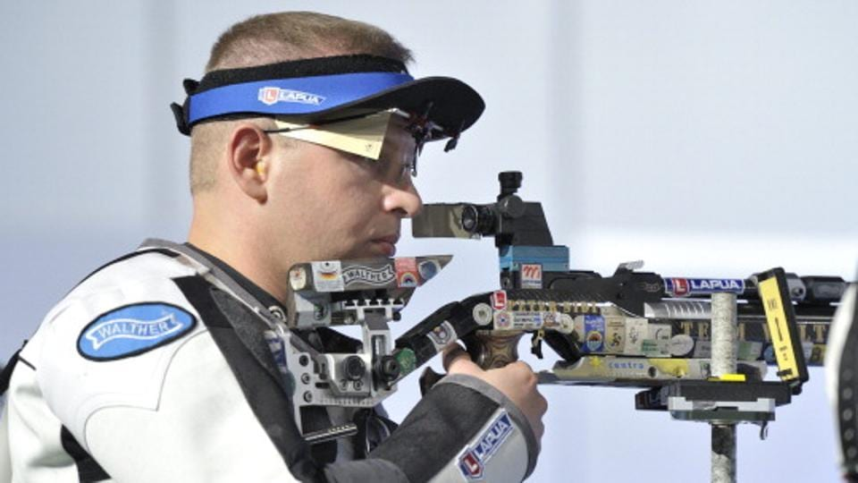 Hungary's Peter Sidi finished fifth in the 10m air rifle event at Rio Olympics, behind Abhinav Bindra.