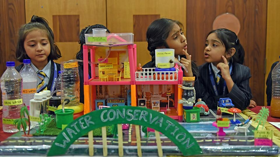 The 6th NES National Science Festival — a 7-day event  —  kicked off on February 25 at the NES International School in  Mulund. (Pratik Chorge/HT PHOTO)