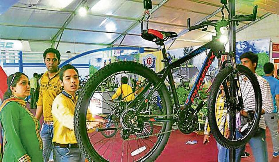 Hero Cycles,Sports Expo,cycle exhibition