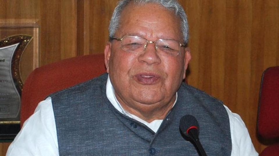 Union minister for micro and small industries Kalraj Mishra.