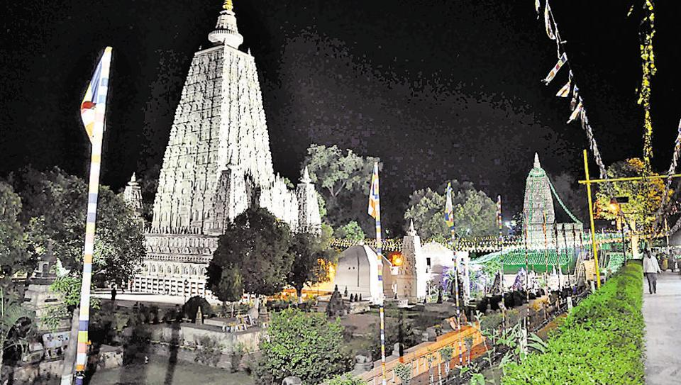 Bodh Gaya,Mahabodhi mahavihara,Unesco heritage site