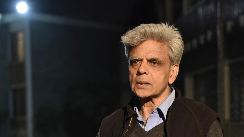 Ramjas college professor Mukul Mangalik.
