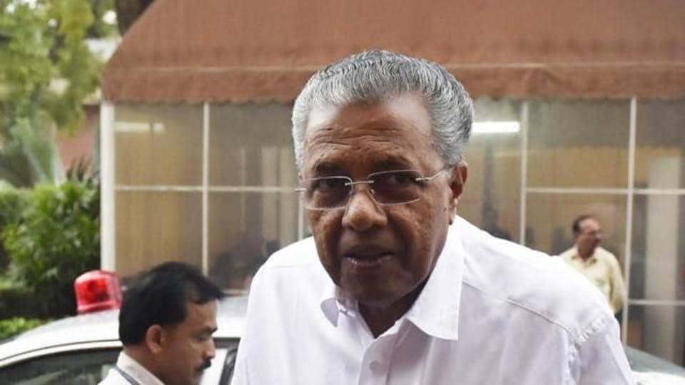 Kerala chief minister Pinarayi Vijayan in July 2016.