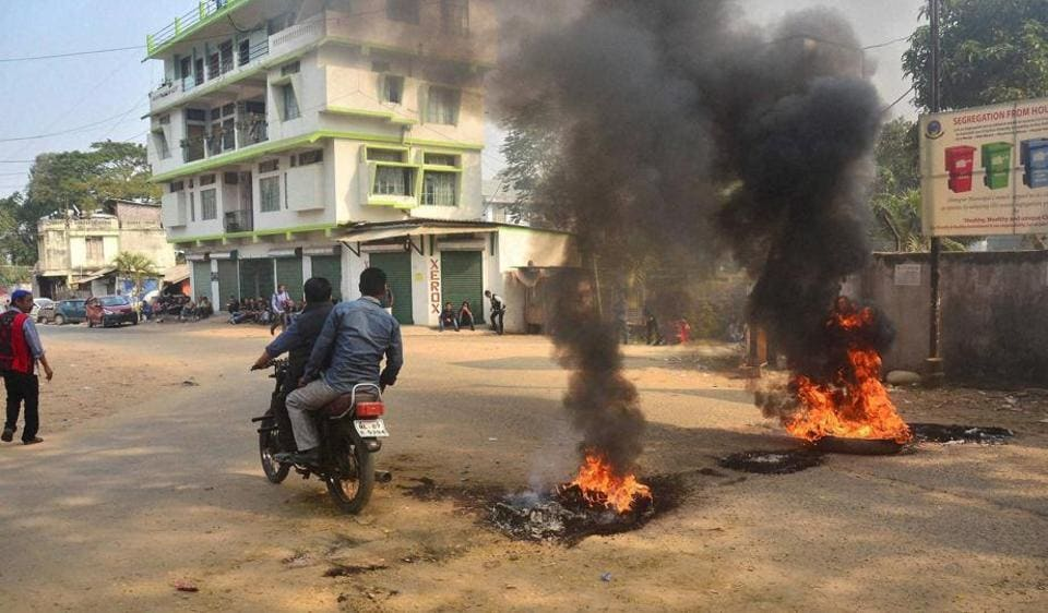 Nagaland,Women's reservation bill,Protests in Nagaland