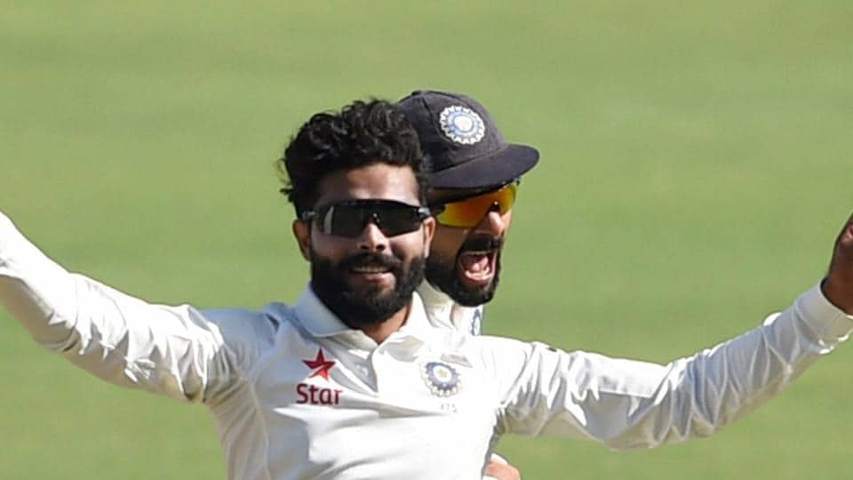 Resuming the day on 143/4, Australia lost their first wicket of Day 3 on 169 as Ravindra Jadeja dismissed Mitchell Marsh. (PTI)