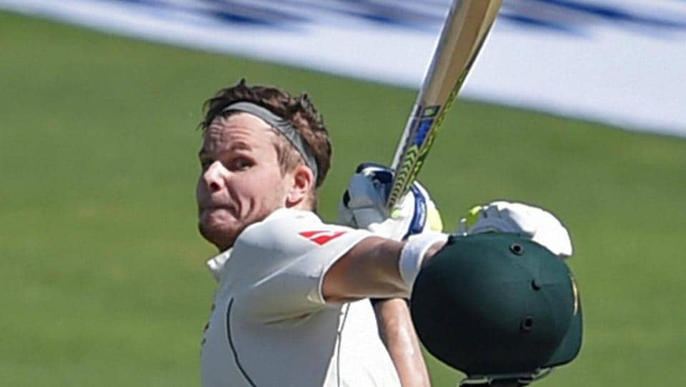 Australia captain Steve Smith then scored his 18th century as Australia took a huge lead. (PTI)