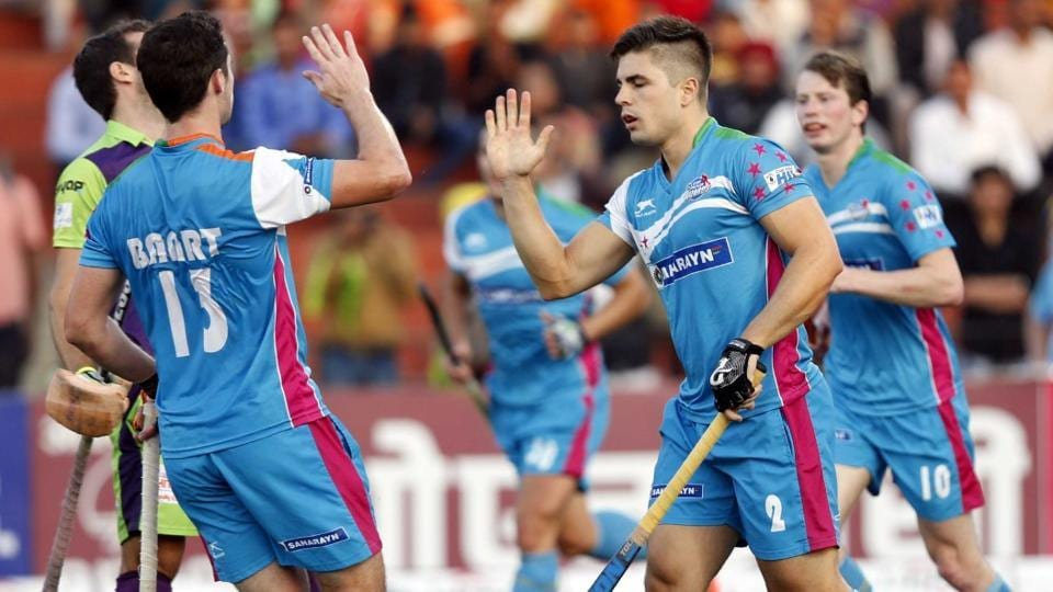 UP Wizards beat Delhi Waveriders in the third-place play-off match of the Hockey India League.