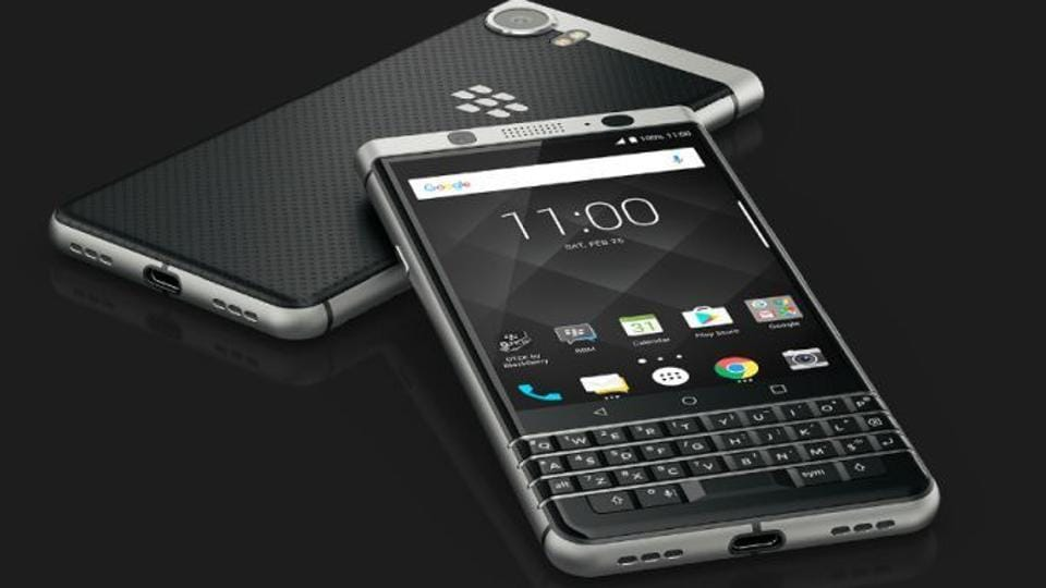 BlackBerry launches new KEYone android smartphone for $549 ...