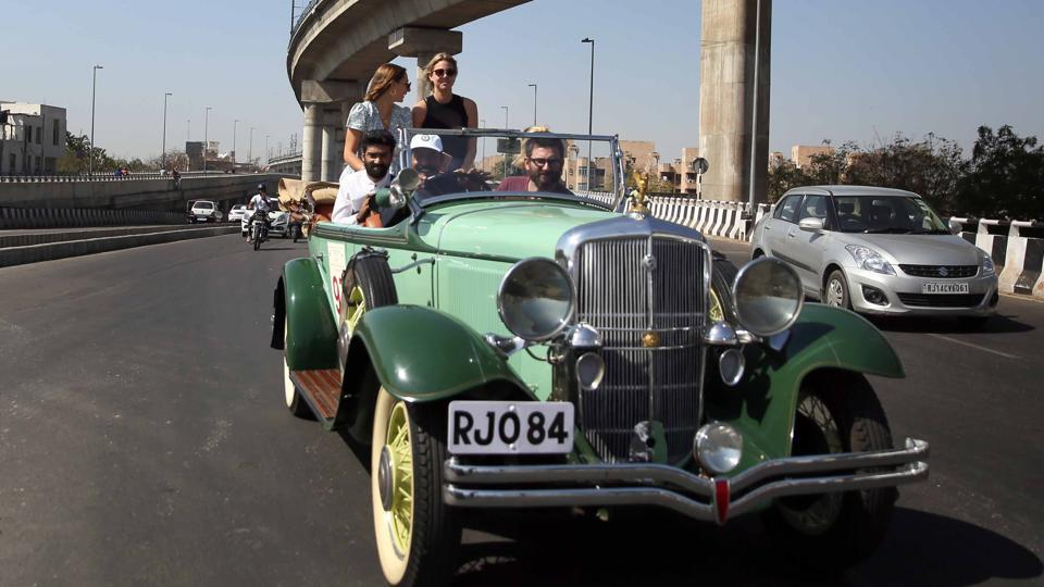 The event brings together  a group of  leading vintage car collecters and owners from different parts of the country.