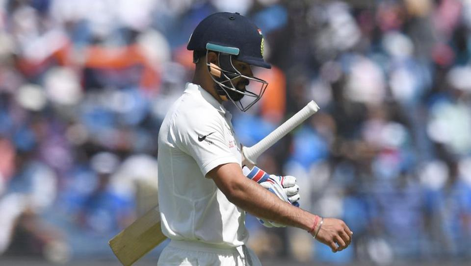 India captain Virat Kohli suffered his first defeat at home as India lost by 333 runs in the first Test to Australia.