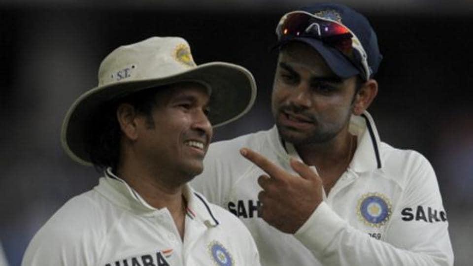 Virat Kohli,Sachin Tendulkar,India vs Australia