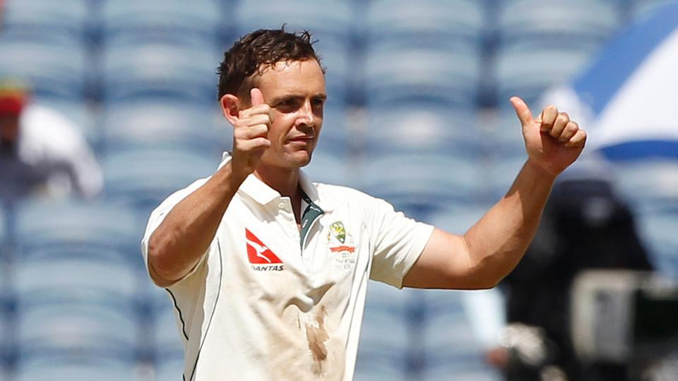 Steve O'Keefe picked up the best figures by an overseas spinner in India as his match haul of 12/70 gave Australia a thumping 333-run win over India in Pune.