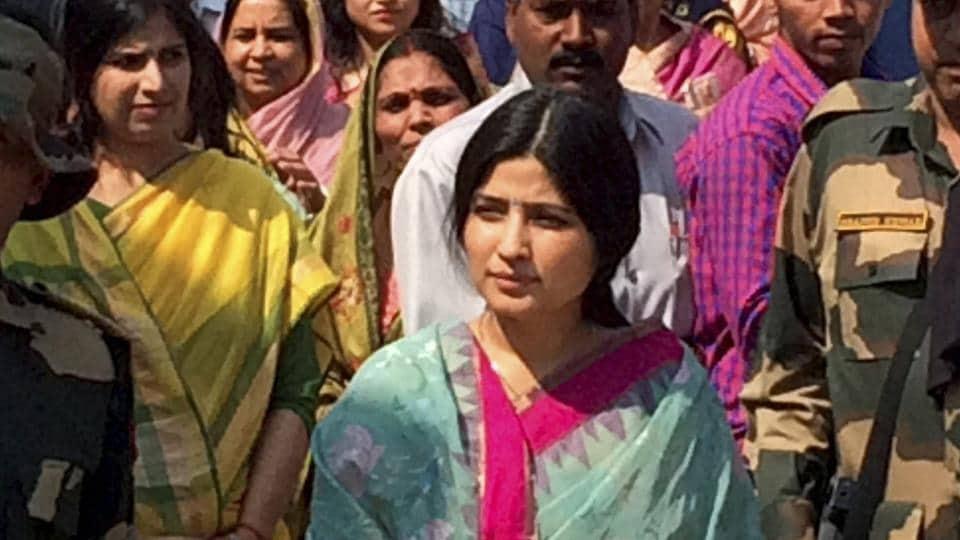 Kannauj MP Dimple Yadav.