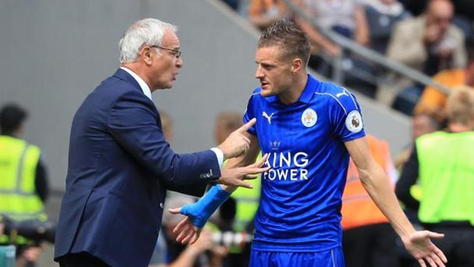 Jamie Vardy,Claudio Ranieri,Leicester City F.C.