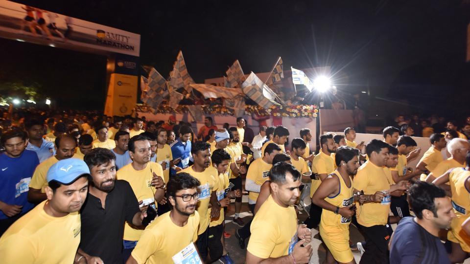 Gurgaon marathon,Amity Gurgaon Half Marathon,Gurgaon hald marathon