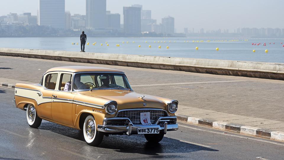 Vintage Cars Take A Trip Down The Memory Lane In Mumbai Mumbai