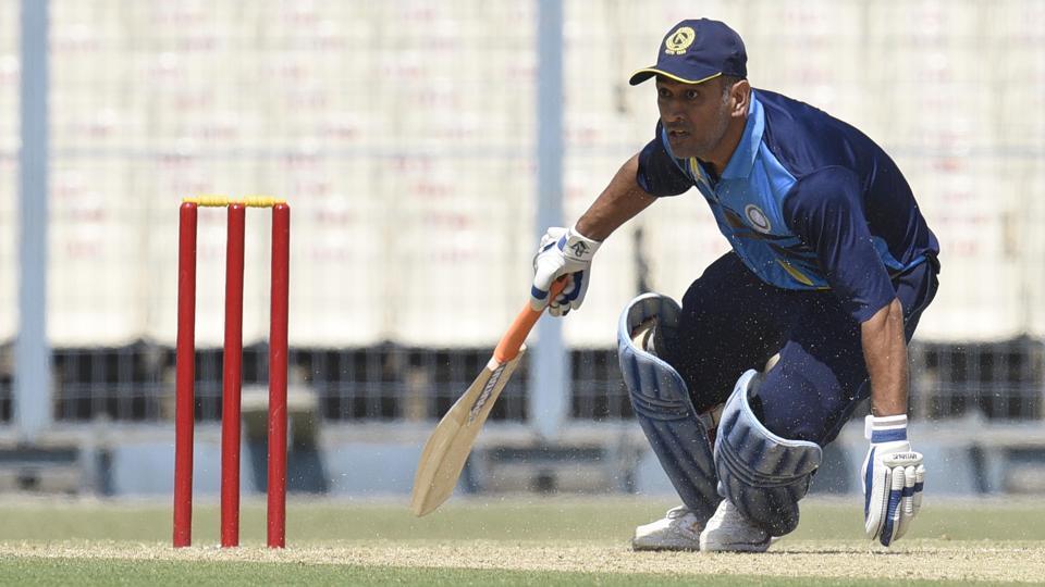 Jharkhand cricket team Skipper MS Dhoni  scored 129 off 107 balls against Chattisgarh in their Vijay Hazare Trophy match at Eden Gardens on Sunday.
