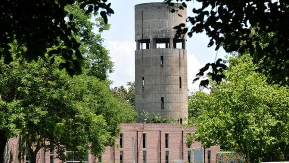 The women climbed the water tank located in Chhani area of the city in the early hours on Sunday and threatened to jump from it.