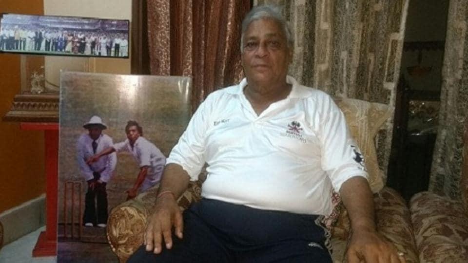 Rajinder Goel (in picture) and Padmakar Shivalkar will receive the C K Nayudu Lifetime Achievement Award.