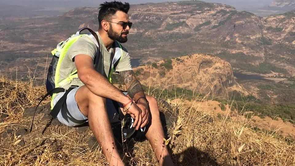 Virat Kohli went on a trekking trip with his Indian cricket team mates ahead of the second Test match against Australia cricket team in Bangalore.