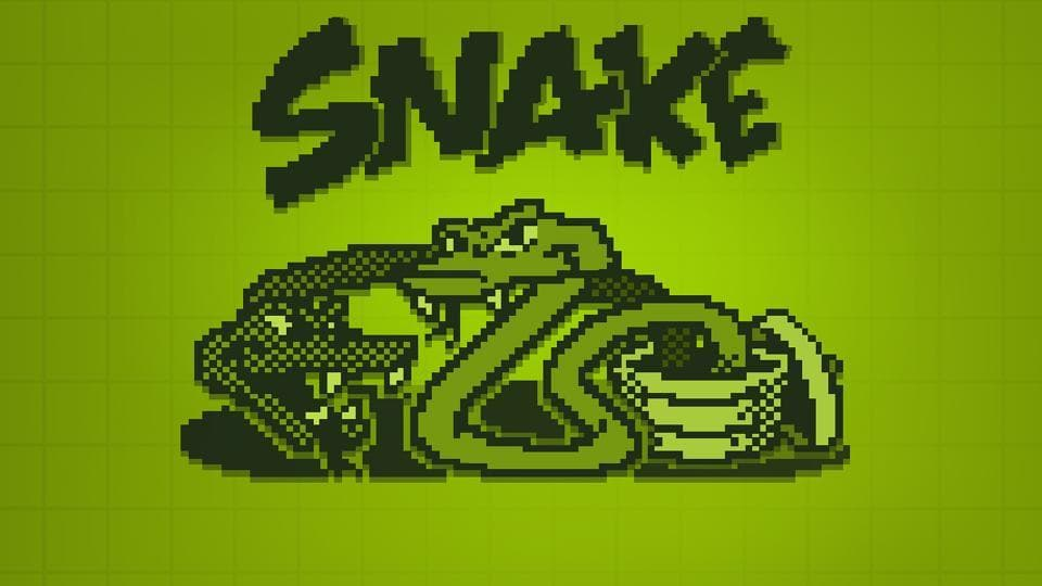Nokia's snake game is available on Facebook's Messenger.