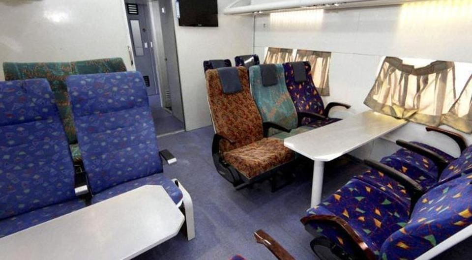 With cushioned luggage racks with coat hooks, Antyodaya Express will also have LED lights and enhanced capacity dustbins.