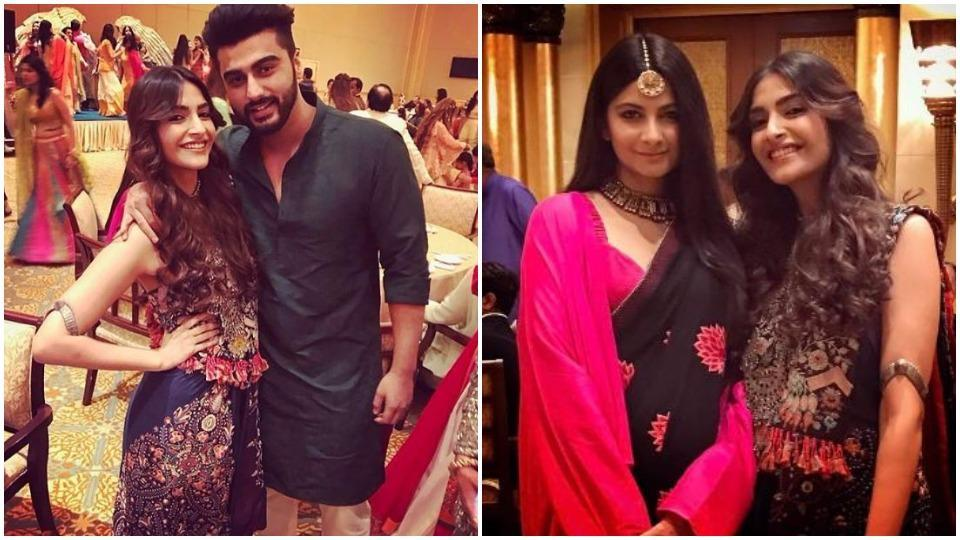 Cousins Sonam, Arjun and Rhea shared some happy pictures from their cousin's big, fat, Indian wedding in Abu Dhabi.