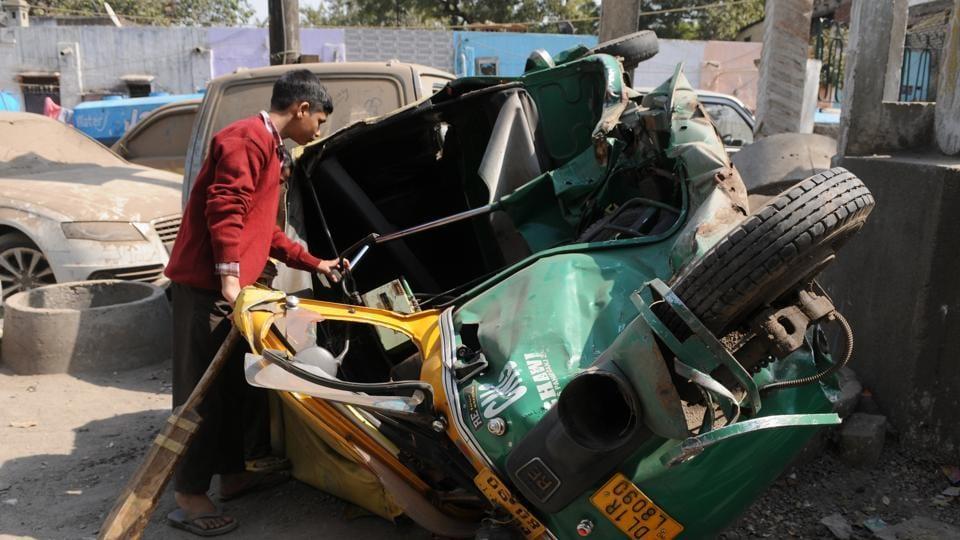 Delhi,National Capital,Road accident
