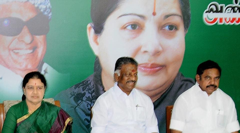 """MCR Praveen said in today's AIADMK, only """"the name and fame"""" of MG Ramachandran was being used """"but not his policies, especially those regarding public service."""""""