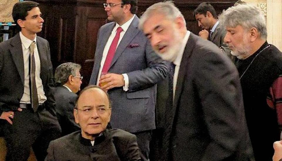 Finance Minister Arun Jaitley is on a four-day visit mainly to represent India at the event.