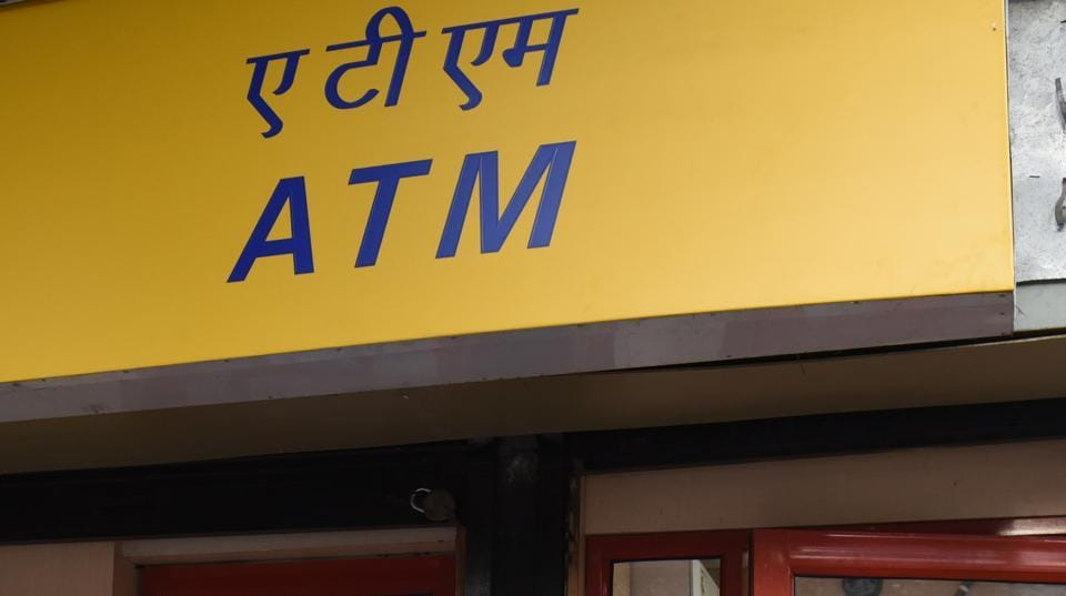 A box containing Rs 24.68 lakh cash found outside an ATM in Vadodara.