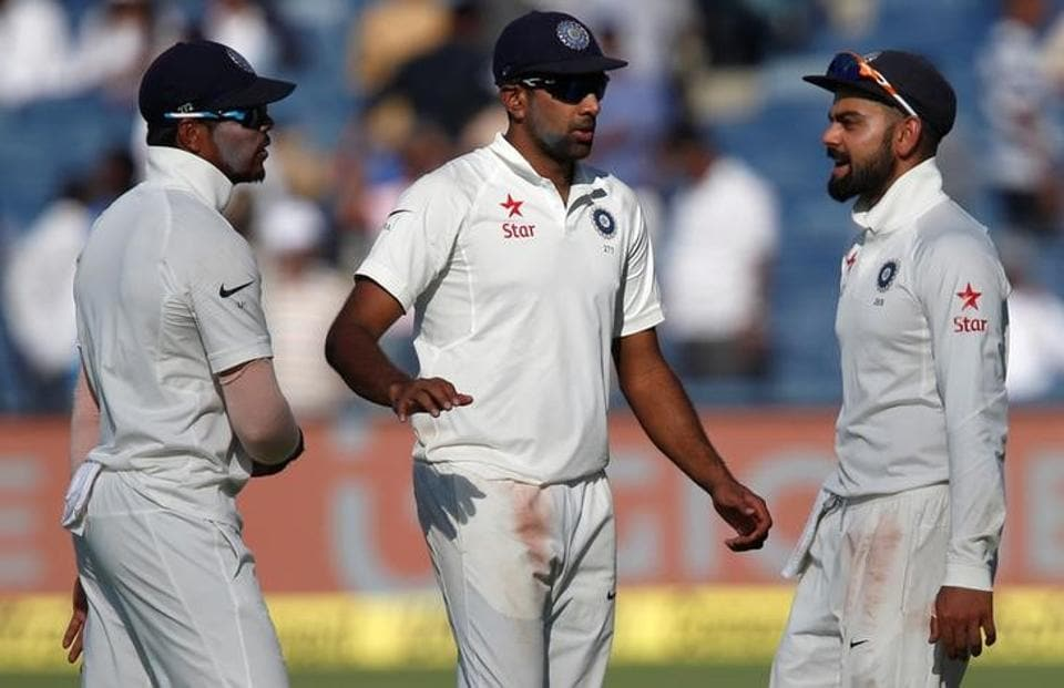 Virat Kohli and Ravichandran Ashwin saw no change in their positions in the ICCTest rankings.