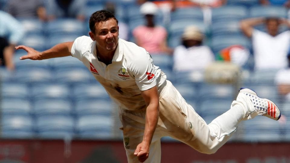 Steve O'Keefe returned with a match haul of 12/70 that helped Australia beat India by 333 runs in the first Test in Pune last week.