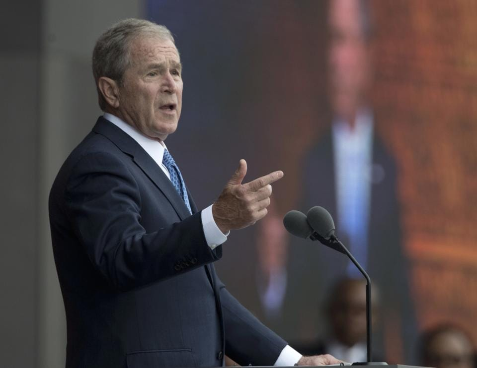Bush said that it is important for the media to call to account people who abuse their power.