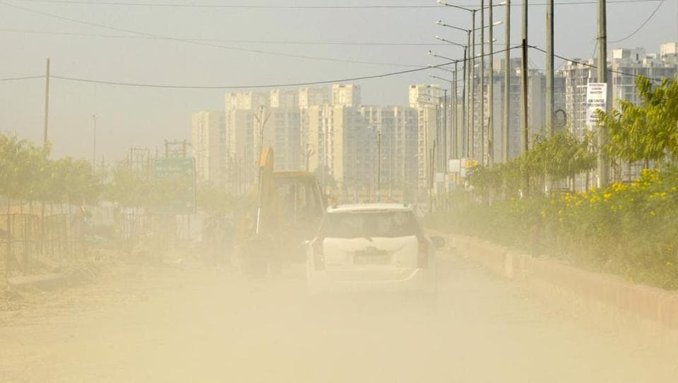 Air quality in NCR has remained critical due to construction activities and unchecked factories.