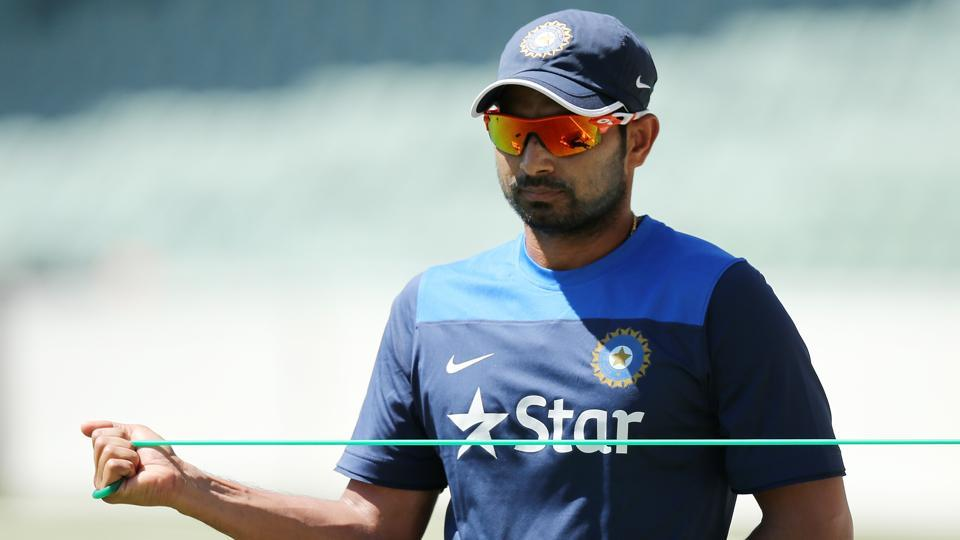 Mohammed Shami of India has been recuperating from a knee injury since he played the third Test against England in Mohali in November.