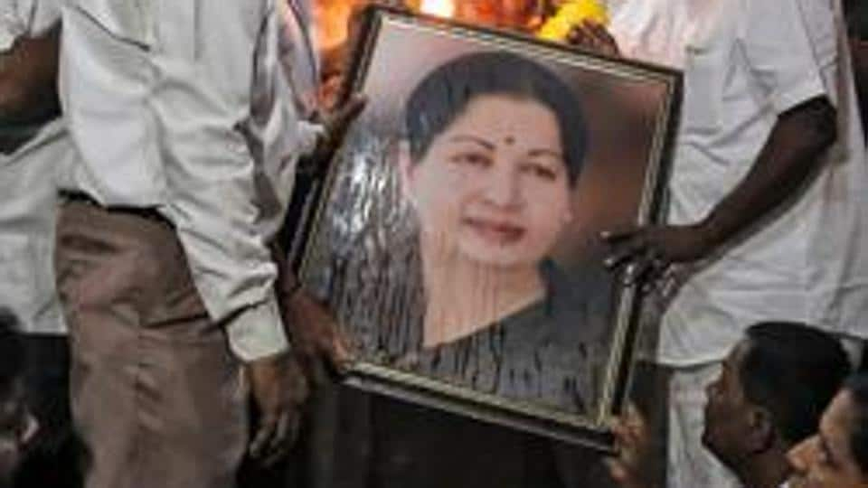 PILs have sought the removal of portraits of late chief minister Jayalalithaa from government offices and schemes.