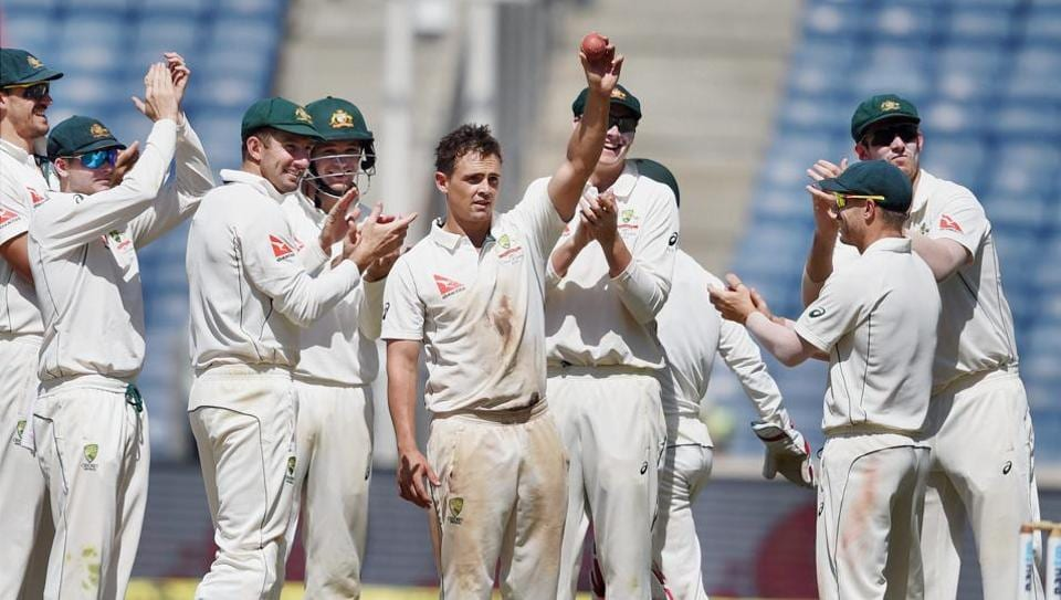 Steve O'Keefe returned with match figures of 12/70 in the first India vs Australia Test.