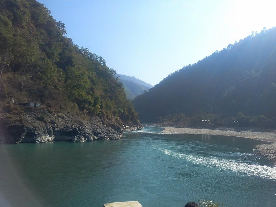 Mahakali river flows from Nepal and enters into India in the bordering district of Pithoragarh.