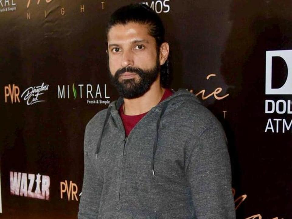 Farhan Akhtar is playing a prisoner in the film Lucknow Central.