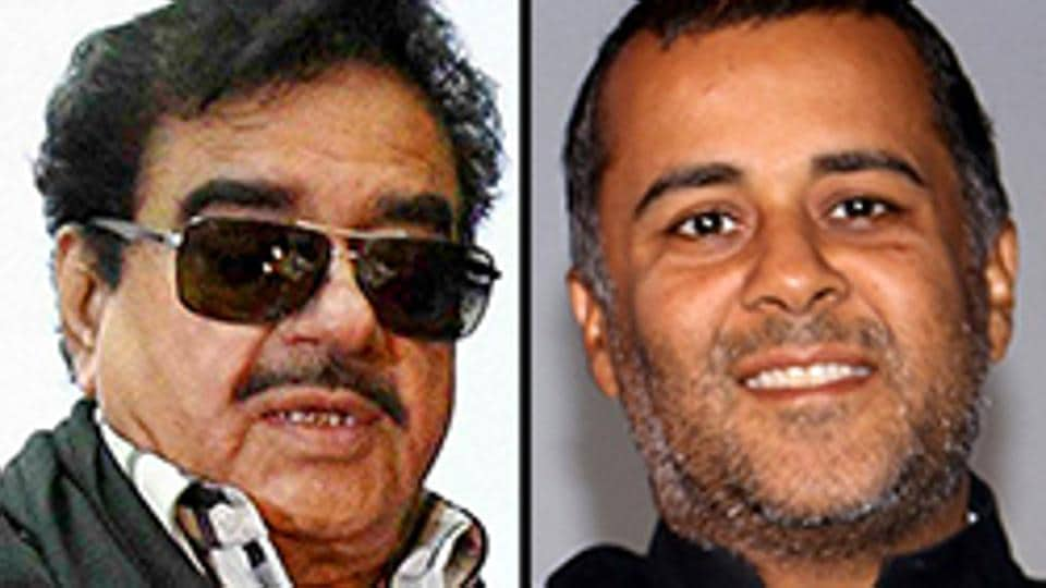 "ShatrughanSinha launched a Twitter tirade against Chetan Bhagat for the author's ""unwarranted comparison"" between Rahul Gandhi and LK Advani."