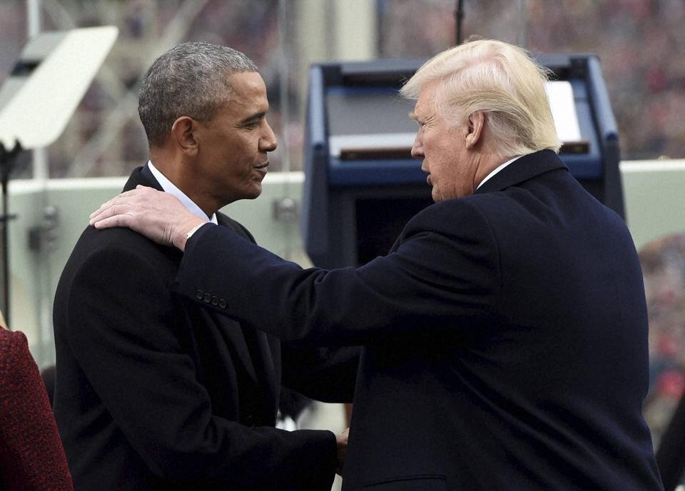 Donald Trump,Barack Obama,White House