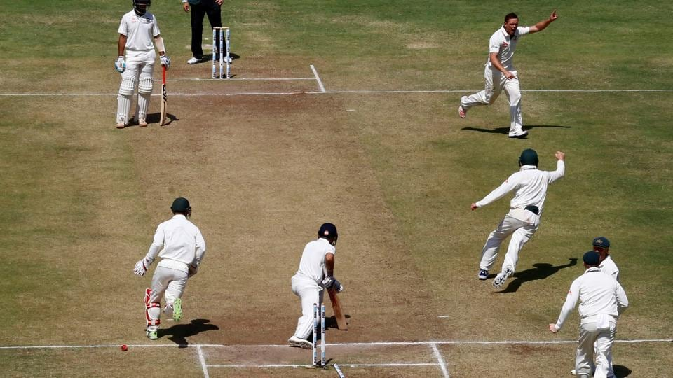 The Pune pitch for the first Test between India and Australia has been rated poor by International Cricket Council match referee Chris Board in his report. This was Pune's first ever Test match.