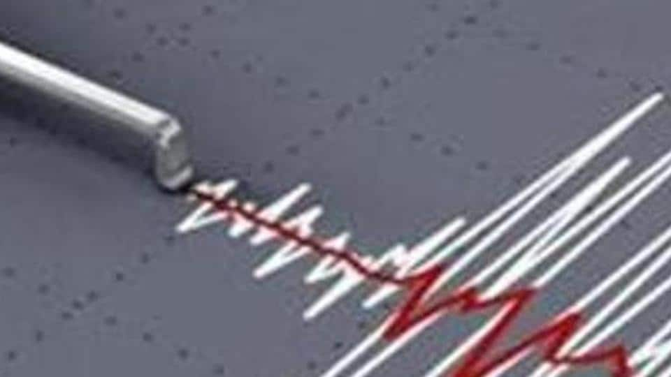 The magnitude of the earthquake was 5.4 and its epicentre was in Tajikistan.